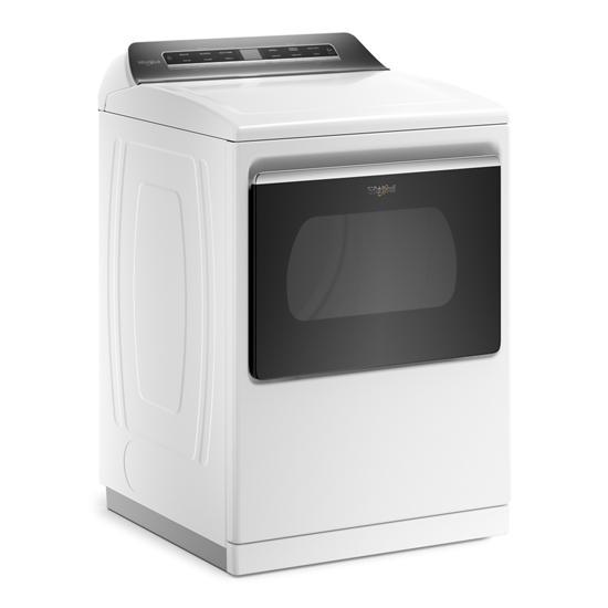 Model: WGD8127LW | Whirlpool 7.4 cu. ft. Top Load Gas Dryer with Advanced Moisture Sensing