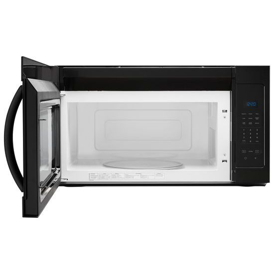 Model: WMH31017HB   Whirlpool 1.7 cu. ft. Microwave Hood Combination with Electronic Touch Controls