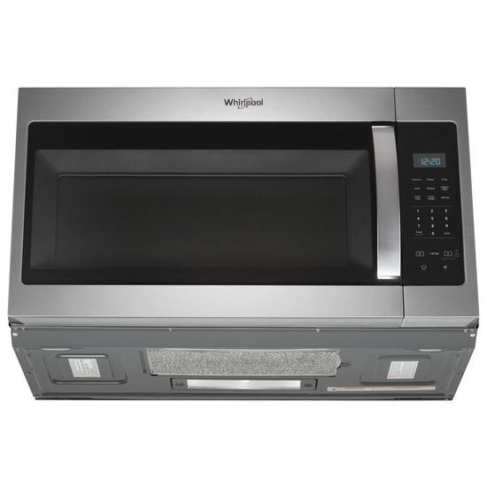 Model: WMH31017HZ   Whirlpool 1.7 cu. ft. Microwave Hood Combination with Electronic Touch Controls
