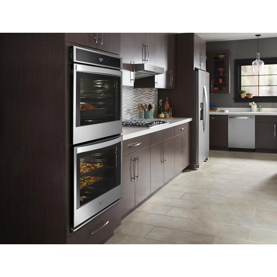 Model: WOD51EC0HS | Whirlpool 10.0 cu. ft. Smart Double Wall Oven with Touchscreen