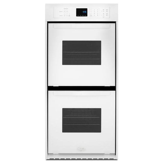 Whirlpool 6.2 Cu. Ft. Double Wall Oven with High-Heat Self-Cleaning System