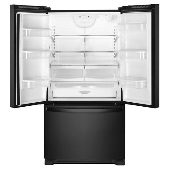 Model: WRF535SWHB   Whirlpool 36-inch Wide French Door Refrigerator with Water Dispenser - 25 cu. ft.