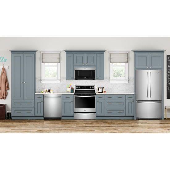 Model: WRF535SWHZ | Whirlpool 36-inch Wide French Door Refrigerator with Water Dispenser - 25 cu. ft.