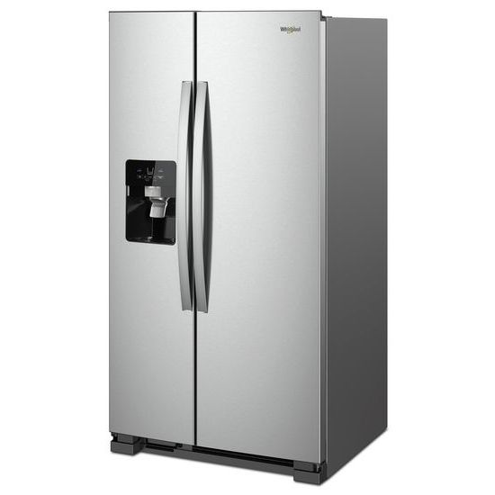 Model: WRS321SDHZ   Whirlpool 33-inch Wide Side-by-Side Refrigerator - 21 cu. ft.