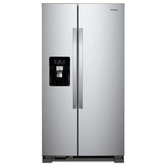 Whirlpool 36-inch Wide Side-by-Side Refrigerator - 25 cu. ft.