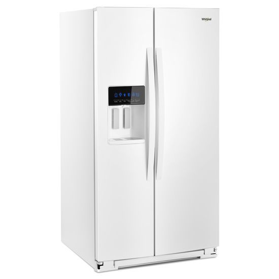 Model: WRS588FIHW | Whirlpool 36-inch Wide Side-by-Side Refrigerator - 28 cu. ft.