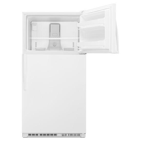 Model: WRT311FZDW | Whirlpool 33-inch Wide Top Freezer Refrigerator - 20 cu. ft.