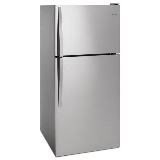 Model: WRT318FMDM | Whirlpool 30-inch Wide Top Freezer Refrigerator - 18 cu. ft.