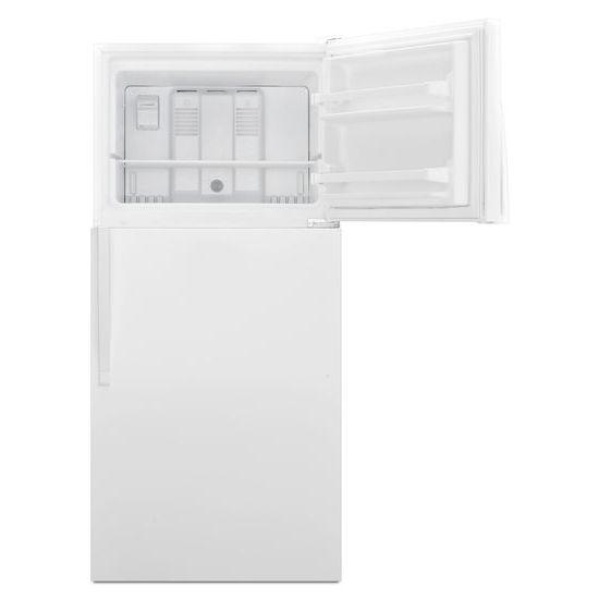 Model: WRT318FZDW | Whirlpool 30-inch Wide Top Freezer Refrigerator - 18 cu. ft.