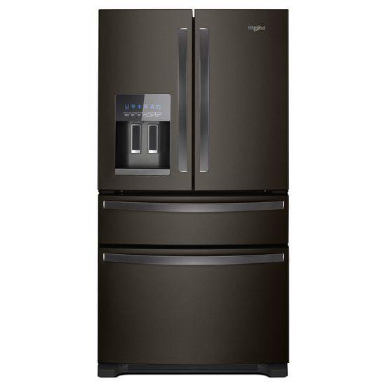 Whirlpool 36-Inch Wide French Door Refrigerator - 25 cu. ft.