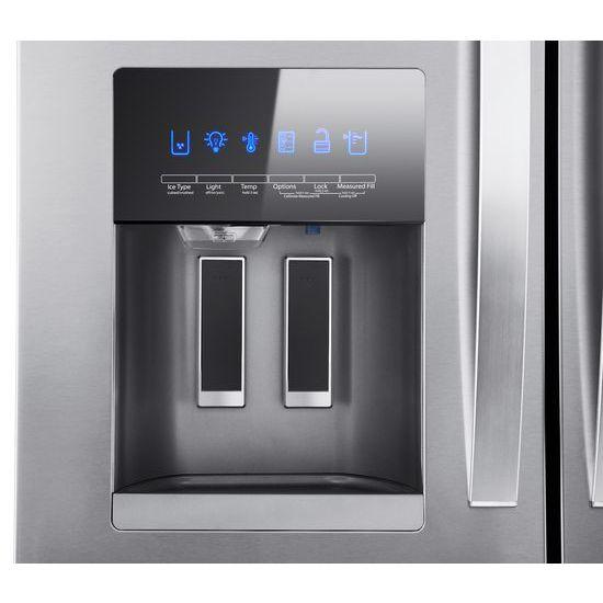 Model: WRX735SDHZ | Whirlpool 36-Inch Wide French Door Refrigerator - 25 cu. ft.