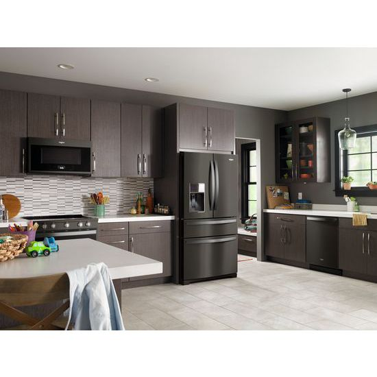 Model: WRX986SIHV | Whirlpool 36-inch Wide 4-Door Refrigerator with Exterior Drawer - 26 cu. ft.