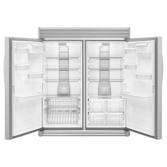 Model: WSZ57L18DM | Whirlpool 18 cu. ft. SideKicks® All-Freezer with Fast Freeze
