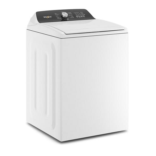 Whirlpool 4.6 Cu. Ft. Top Load Impeller Washer with Built-in Faucet