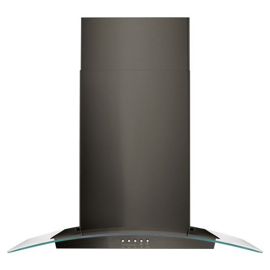 """Unbranded 30"""" Concave Glass Wall Mount Range Hood"""