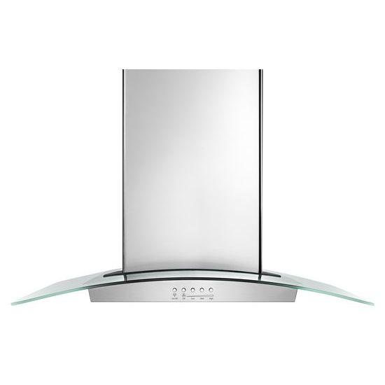 "Unbranded 30"" Modern Glass Wall Mount Range Hood"