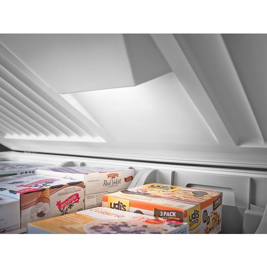 Model: WZC3122DW | Whirlpool 22 cu. ft. Chest Freezer with Extra-Large Capacity