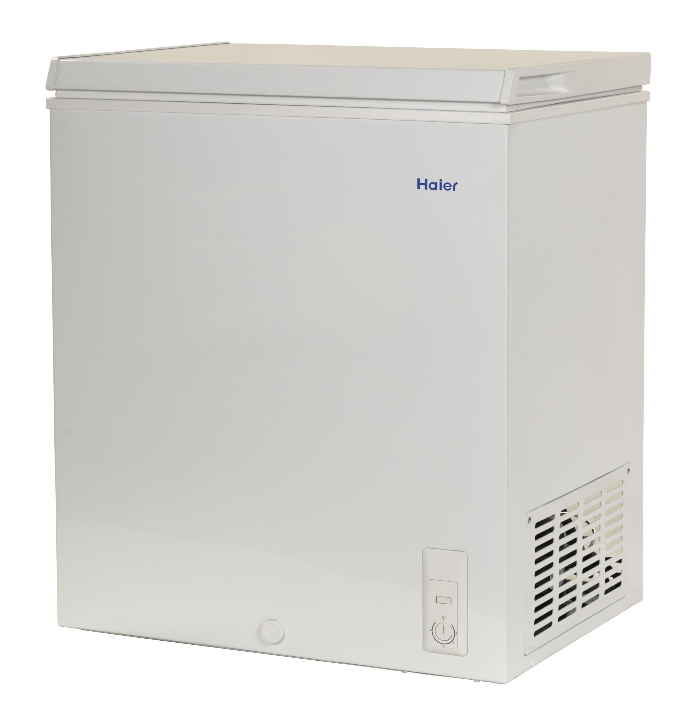Model: HF50CW20W   Haier 5.0 Cu. Ft. Capacity Chest Freezer