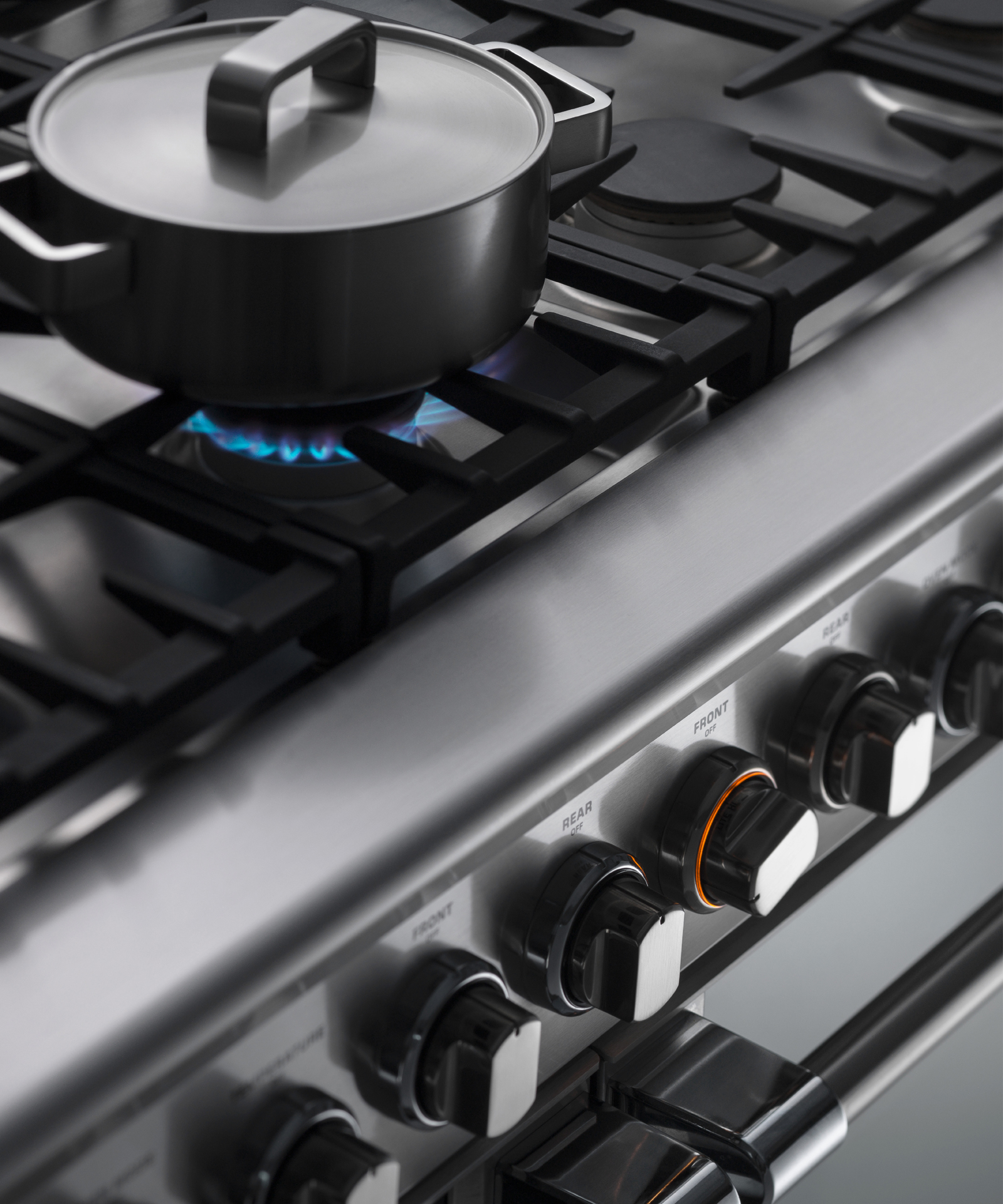 "Model: RDV2-488-L_N   Fisher and Paykel Dual Fuel Range, 48"", 8 Burners, LPG"