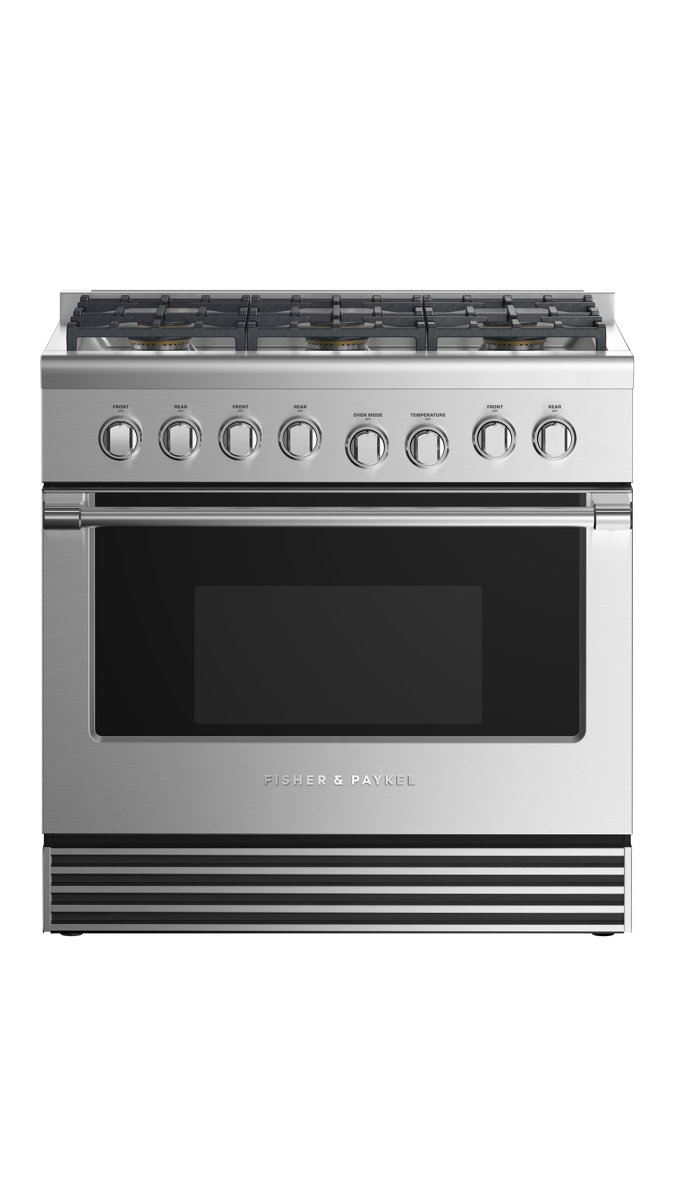 """Fisher and Paykel Dual Fuel Range, 36"""", 6 Burners, LPG"""