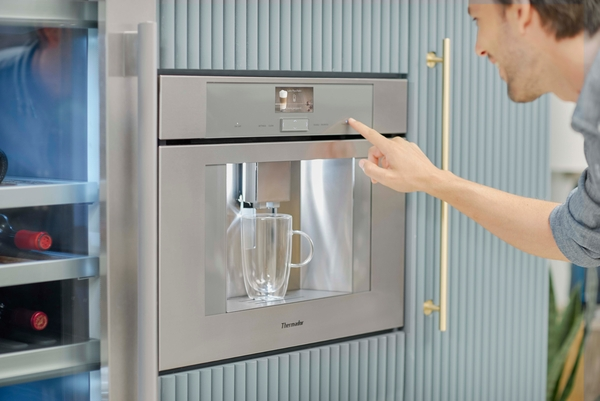 Model: TCM24PS   Thermador TCM24PS, Built-in Coffee Machine