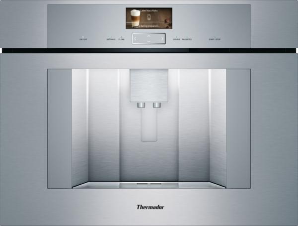 Model: TCM24TS | Thermador TCM24TS, Built-in Coffee Machine