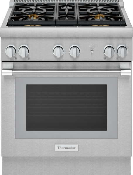 Thermador Gas Professional Range 30'' Pro Harmony® Standard Depth Stainless Steel
