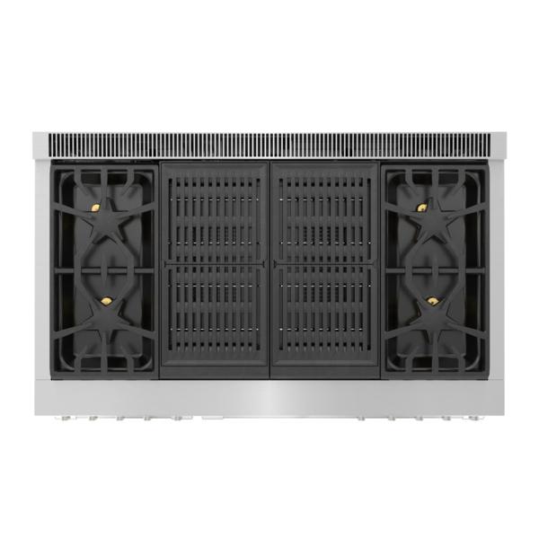 Model: PRD486WLGU   Thermador Dual Fuel Professional Range 48'' Pro Grand® Commercial Depth