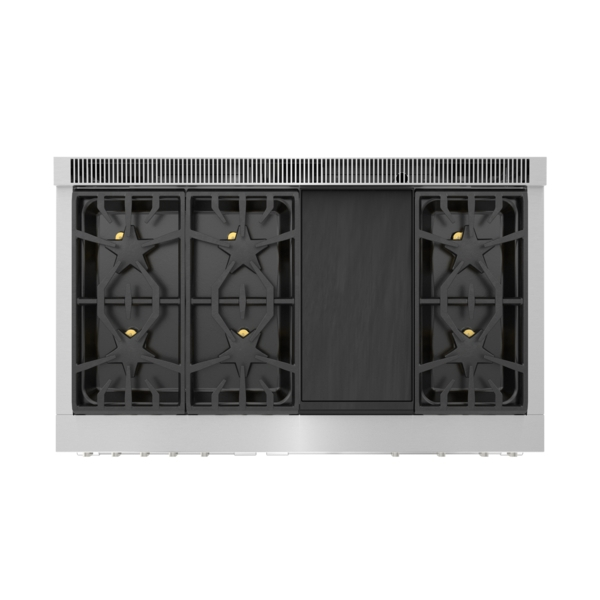 Model: PRD48WISGU | Thermador Dual Fuel Professional Range 48'' Pro Grand® Commercial Depth