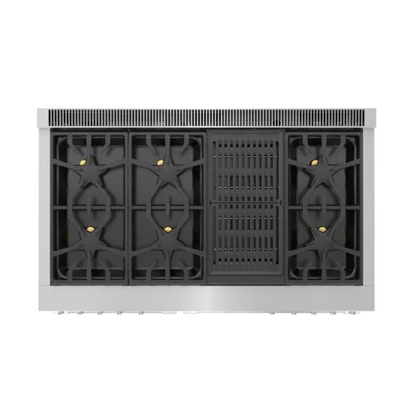 Model: PRD48WLSGU | Thermador Dual Fuel Professional Range 48'' Pro Grand® Commercial Depth
