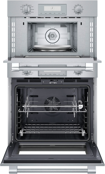 Model: PODMC301W | Thermador Combination Speed Wall Oven 30'' Stainless Steel