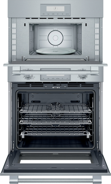 Model: POM301W | Thermador Combination Wall Oven 30'' Stainless Steel