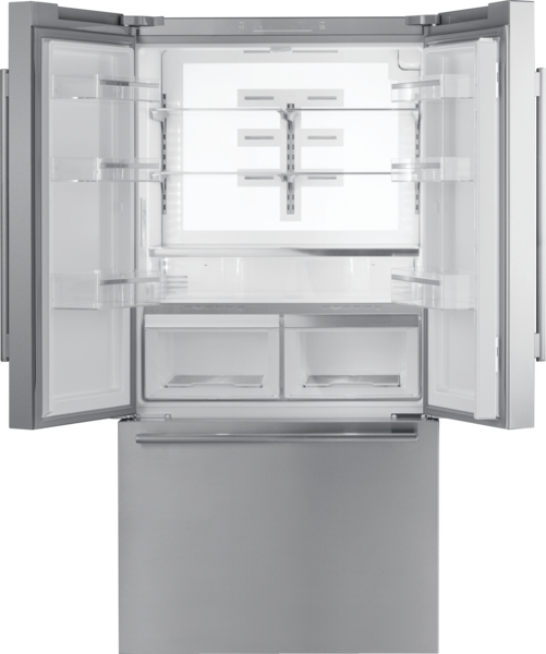 Model: T36FT810NS | Thermador Freedom® French Door Bottom Mount Refrigerator 36'' Masterpiece