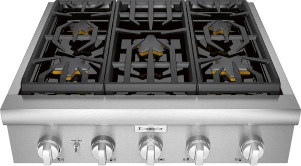 Model: PCG305W | Thermador PCG305W, Gas Rangetop
