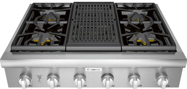 Thermador PCG364WL, Gas Rangetop