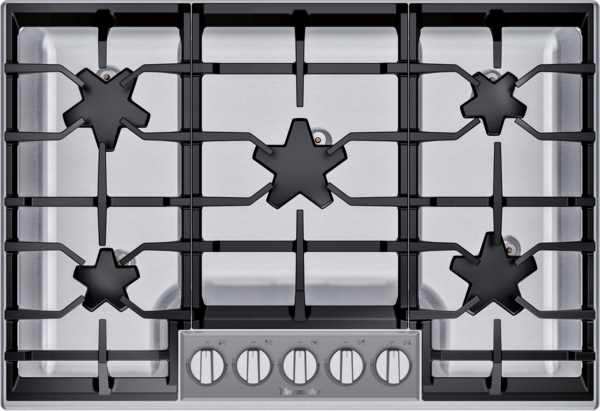 Thermador Gas Cooktop 30'' Stainless Steel