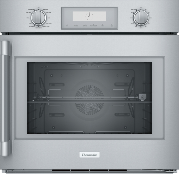 Thermador Single Wall Oven 30'' Right Side Opening Door, Stainless Steel