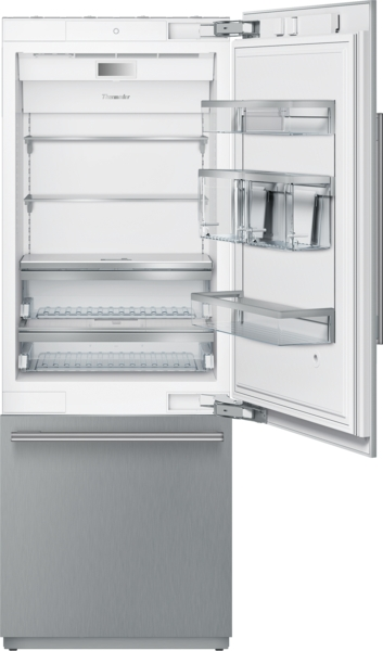Thermador T30BB910SS, Built-in Bottom Freezer Refrigerator