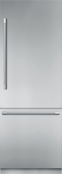 Thermador Built-in Two Door Bottom Freezer 30'' Professional