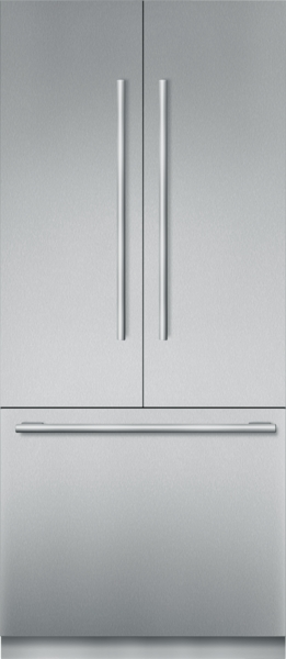 Thermador Built-in French Door Bottom Freezer 36'' Masterpiece