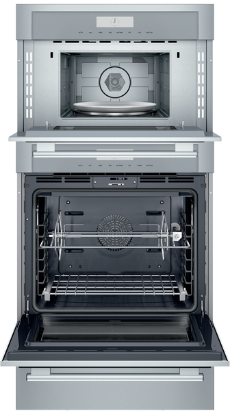 Model: MEDMCW31WS | Thermador Triple Speed Oven 30'' Stainless Steel