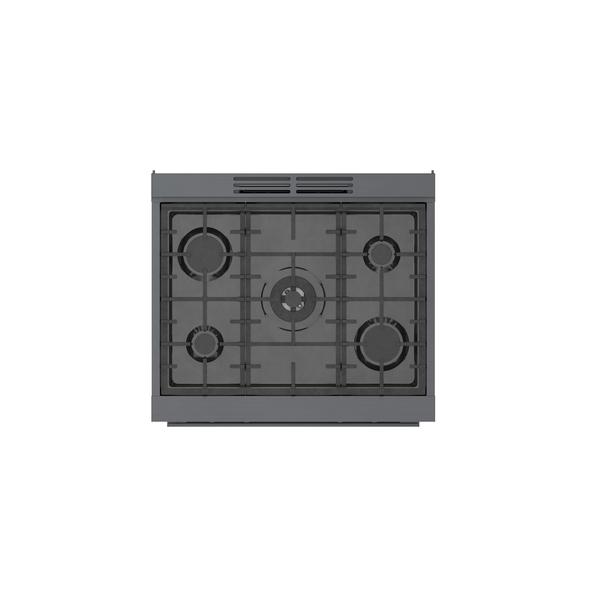 Model: HGS8045UC   Bosch 800 Series Gas Freestanding Range 30''