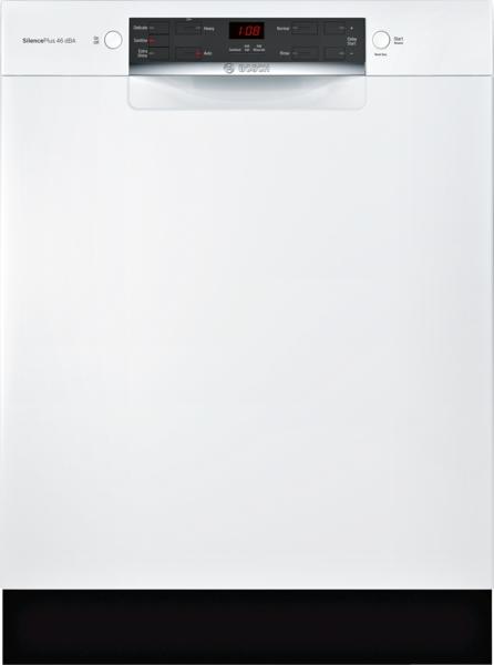 "Bosch 24"" Recessed Handle ADA Compliant Dishwasher"
