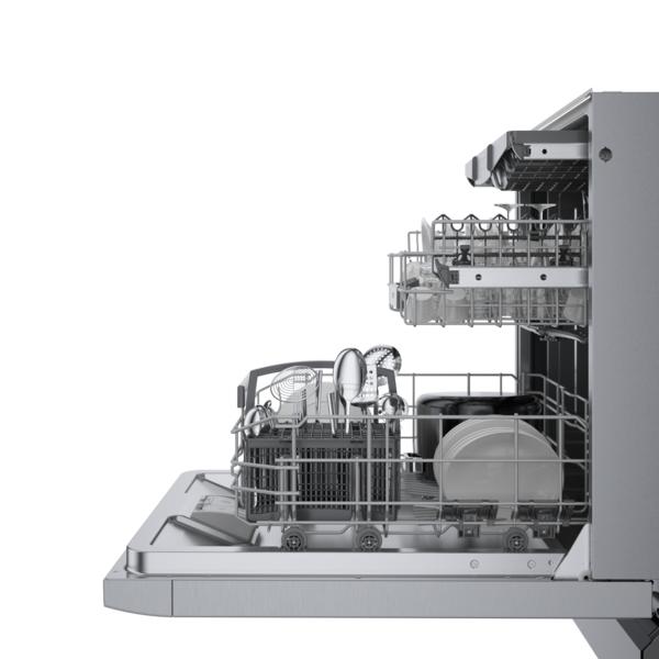 Model: SGE78B55UC | Bosch 800 Series Dishwasher24'' stainless steel