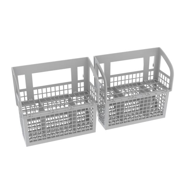 "Model: SHEM63W52N   Bosch 300 Series 24"" Dishwasher Recessed Handle"