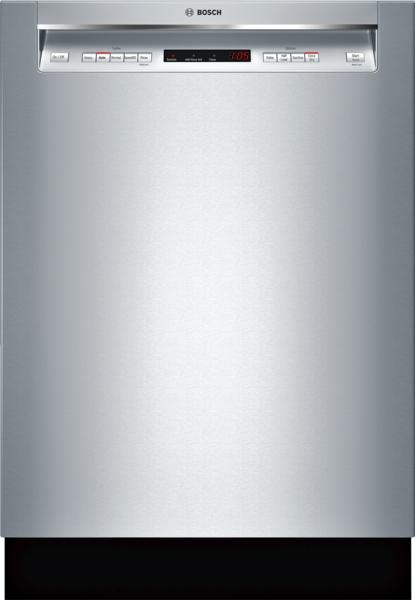 "Bosch 300 Series 24"" Recessed Handle Dishwasher"