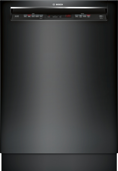 "Bosch 300 Series 24"" Dishwasher Recessed Handle"