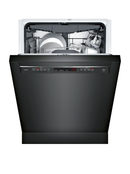 "Model: SHEM63W56N | Bosch 300 Series 24"" Dishwasher Recessed Handle"