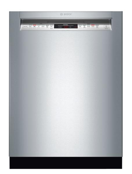 Bosch 800 Series Dishwasher 24''Recessed Handle