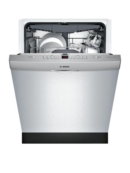 Model: SHS863WD5N | Bosch 300 Series Dishwasher 24'' Scoop Handle